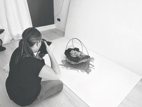 Baby Foto Barcelona Making Of Eileen Michaud