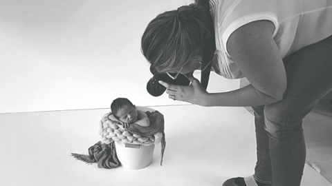 Baby Foto Barcelona Making Of Eileen Michaud