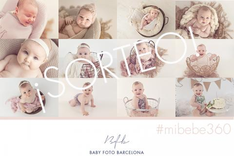 Baby Foto Barcelona - Sorteig Aniversari Pack # mibebe360