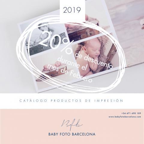 Baby Foto Barcelona - Descompte fidelitat catàleg impremta