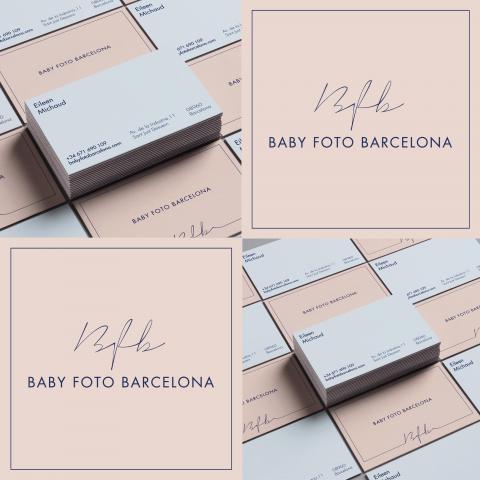 Tarjetas Baby Foto Barcelona