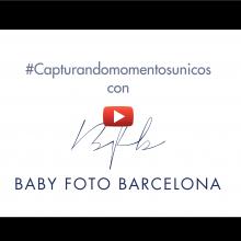 Video Sesión de recién nacido con BABY FOTO BARCELONA